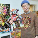 芸術家【情熱大陸の感想】田名網敬一のプロフや経歴、アディダスとのコラボ作品を調査!