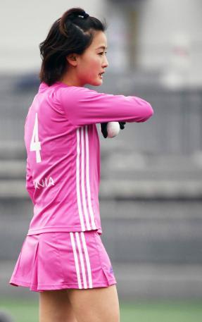 さくらジャパン女子ホッケーかわいい選手:一谷奈歩3