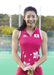 さくらジャパン女子ホッケーかわいい選手:湯田葉月
