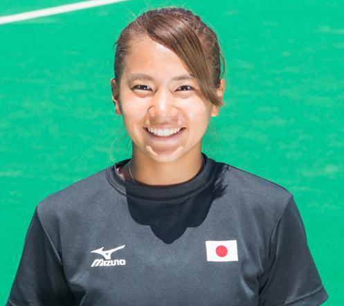 さくらジャパン女子ホッケーかわいい選手:瀬川真帆