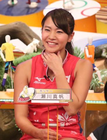 さくらジャパン女子ホッケーかわいい選手:瀬川真帆4