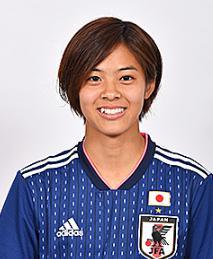 なでしこジャパン女子サッカーかわいい選手:小林里歌子