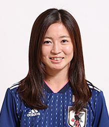 なでしこジャパン女子サッカーかわいい選手:清水梨紗