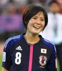 なでしこジャパン女子サッカーかわいい選手:猶本光
