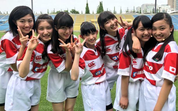 私立輝女学園 「KAGAJO☆7」かわいいラガーシャツ画像