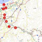 阿賀野川の氾濫情報やライブカメラ映像で現状や被害状況を確認下さい!!