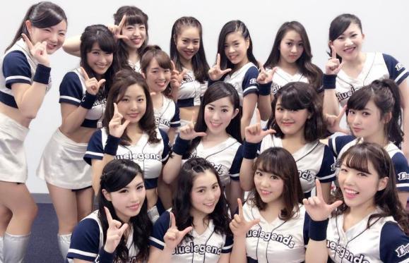 Bluelegends(西武ライオンズ)かわいい画像まとめ!現役と歴代のチアガールを紹介!1