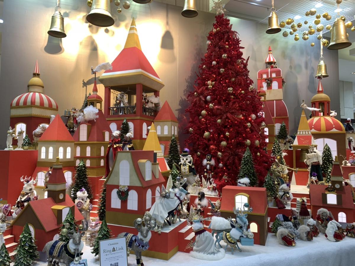 高島屋クリスマスイルミネーション