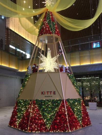 KITTE名古屋のイルミネーション2019の開催期間や点灯時間はいつからいつまで?場所はどこ?キレイな画像も紹介!