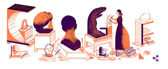 グーグルロゴ(2019年12月8日)「カミーユ・クローデル生誕155周年」の意味や由来は?