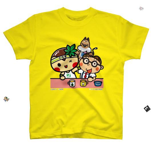 とちまるくんとパソコン太郎の夢絵本:Tシャツ