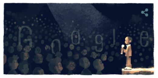 Googleロゴ誰?ンコシ・ジョンソンを称えて!2020年2月4日