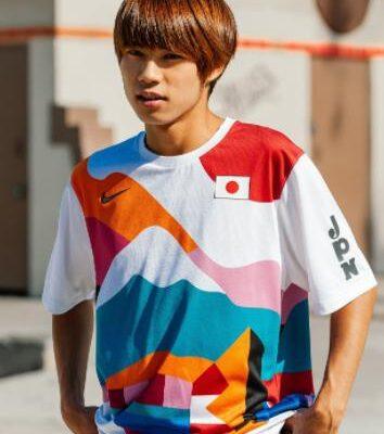 堀米雄斗のTシャツはどこで買える?シューズも話題!オリンピック「スケートボード」金メダルおめでとう!